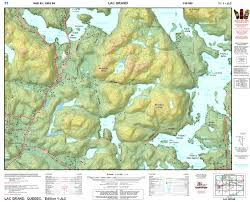 Map Types My Map Ca Online Topographic U0026 Marine Maps Online Store Canada