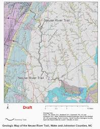 raleigh greenway map nc greenways geology a leisurely geological bike ride along the