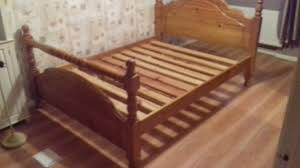 Bed Frames Belfast Heavy Pine 4ft6 Bed Frame And Mattress 99 In Belfast City