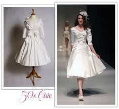 50 s style wedding dresses tea length wedding dresses tea length bridal gown 50s style