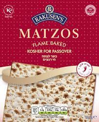 matzos for passover passover matzos rakusen s