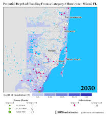 Florida Sea Level Rise Map by Lights Out Storm Surge Blackouts And How Clean Energy Can Help
