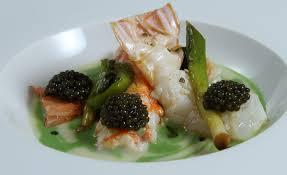 caviar recettes cuisine recette de bouillon parmentier langoustine caviar par alain ducasse
