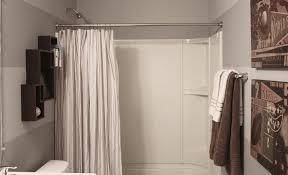 ideas for bathroom curtains bathtub shower curtains icsdri org