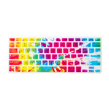 American Flag Keyboard Stickers Multi Color Tie Dye Silicone Macbook Keyboard Cover Claire U0027s B