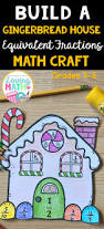 perfect winter craft to practice equivalent fractions looks