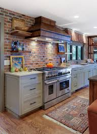 Brick Kitchen Backsplash by Thin Brick Tile Backsplash Roselawnlutheran