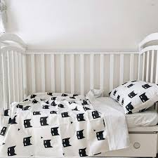 so simple and so stylish black and white baby bedding batman this