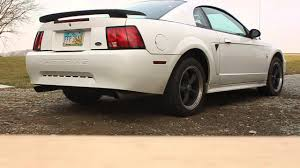 ford racing exhaust mustang v6 2001 ford mustang v6 thrush exhaust no cats