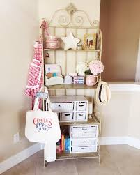Corner Bakers Rack With Storage Bakers Rack Ideas For Your Kitchen Buungi Com