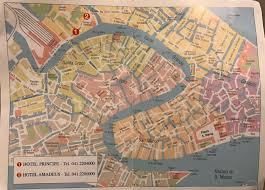 Venice Map Fil Franck Tours Hotels In Venice Hotel Ca Maria Adele Venice