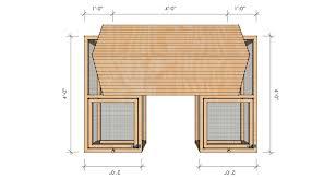 chicken coop floor plan the moop the moop