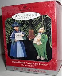 wizard of oz hallmark keepsake ornament emerald city