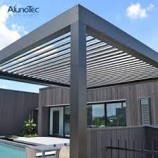 Louvered Patio Roof China Motorised Louver Roof System Louvered Patio Cover China