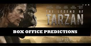 box office predictions legend tarzan u2013