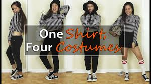 soccer referee halloween costume 1 stripe shirt 4 halloween costumes jferlovesfashion youtube