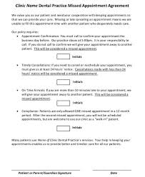 missed appointment letter template 6 free word pdf format
