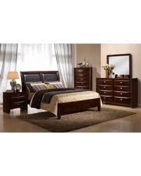 Emily Bedroom Furniture Snag These Savings 26 Myco Furniture Em1550 K Merlot
