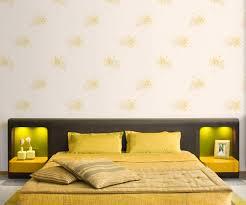 yellow flower wallpaper pattern self adhesive vinyl wallstickery com