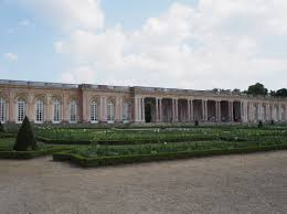 petit trianon a man in paris