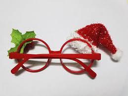 christmas glasses children christmas photobooth props christmas kids glasses