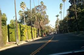 Celebrity Homes In Beverly Hills by Tour Of Beverly Hills And Sunset Blvd Celebrity Mansions Youtube