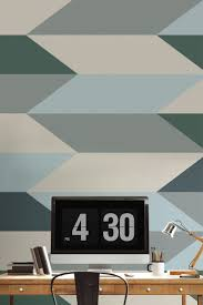 39 best geometric wallpaper murals images on pinterest geometric block geometric design wall mural