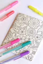 10 easy ways to use coloring pages