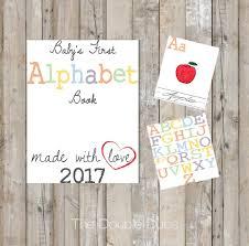 alphabet baby shower invitations diy alphabet book baby u0027s first alphabet book book