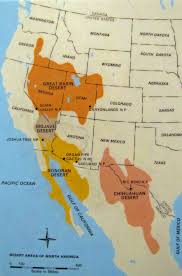 Color Map Of The United States by Sonoran Desert Map United States Social Studies Pinterest