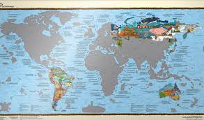 World Maps by Wall Maps Of The World