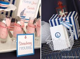 Nautical Themed Giveaways - kara u0027s party ideas nautical sailor party navy party supplies