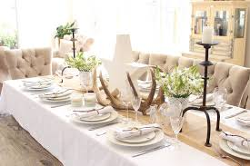 how to decorate dinner table tips for decorating the house for christmas