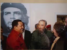 el che fidel castro chavez argentina cuba venezuela