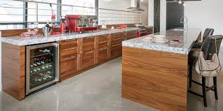 quartz cuisine modele de cuisine contemporaine 11 noyer cuisine bois