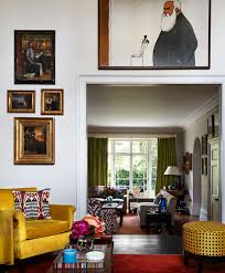a master collector shows us her impeccable taste living rooms