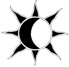 sun and the moon together tattoo design real photo pictures