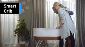 Mini Crib Vs Bassinet by This Bassinet Rocks Babies To Sleep With Womb Like Motions Youtube