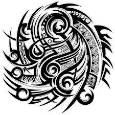 tribal half sleeve design tatoo sleeve