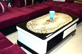 end table cover ideas coffee table cover ideas s cloth mcclanmuse co inside design 11