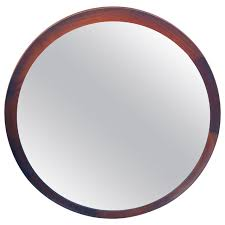 Round Mirrors Danish Modern Round Mirror By Th Poss U0027 Eftf Copenhagen At 1stdibs