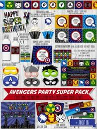 free printable avengers birthday invitations all free printable