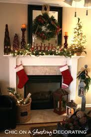 simple fireplace mantel decor designs colors modern unique