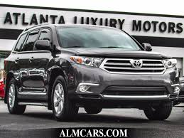 toyota highlander 2012 used 2012 used toyota highlander fwd 4dr v6 se at alm gwinnett serving