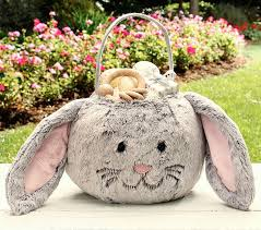 plush easter basket plush easter bunny baskets easter wikii
