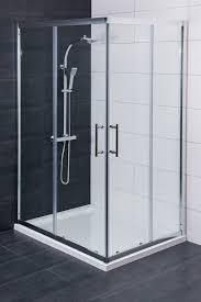 aquariss 1200 x 900mm offset corner entry shower enclosurewith