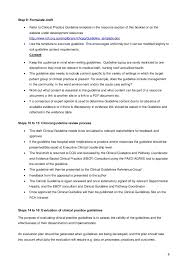 Cma Resume Sample by Clinical Practice Guidelines