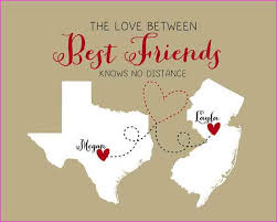 birthday message for best friend distance simple image