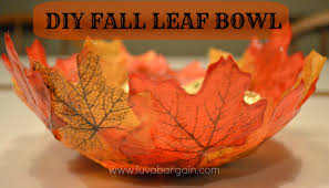 Autumn Home Decor Diy Fall Leaf Bowl Thanksgiving Home Decorating Ideas Best Outdoor