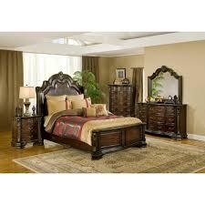 alexandria bedroom bed dresser u0026 mirror king b1100